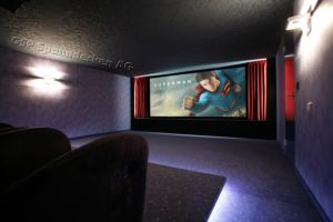 Home Cinema velour Spanndecke
